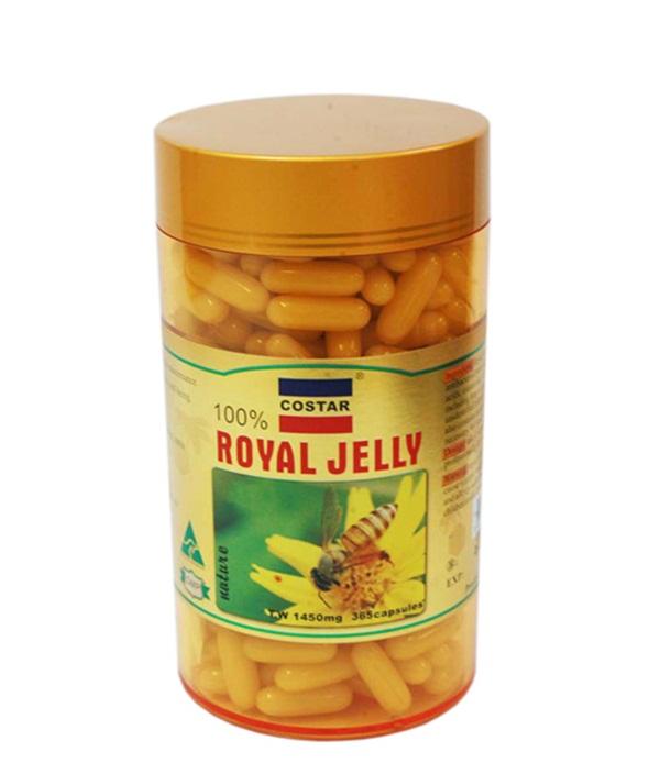 Sữa Ong Chúa Royal Jelly Costar của ÚC 1450 mg
