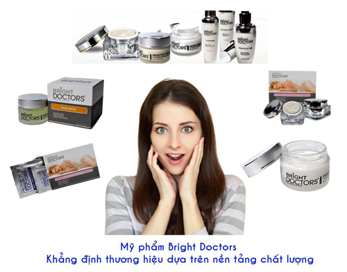 kem bright doctors co tot khong, my pham bright doctors co nen dung hay khong
