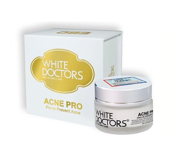 ACNE PRO White Doctors kem trị mụn hết thâm trắng da liền sẹo