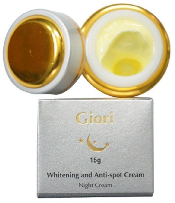 Kem dưỡng trắng da chống lão hóa ban đêm Giori