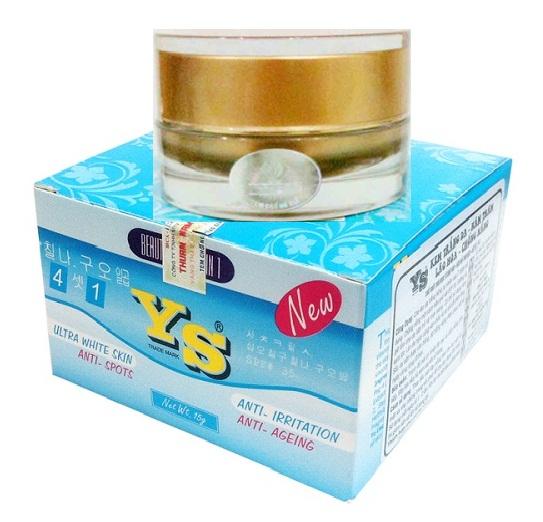 Kem Ys Xanh 4 in 1 dưỡng siêu trắng da Nhật Bản