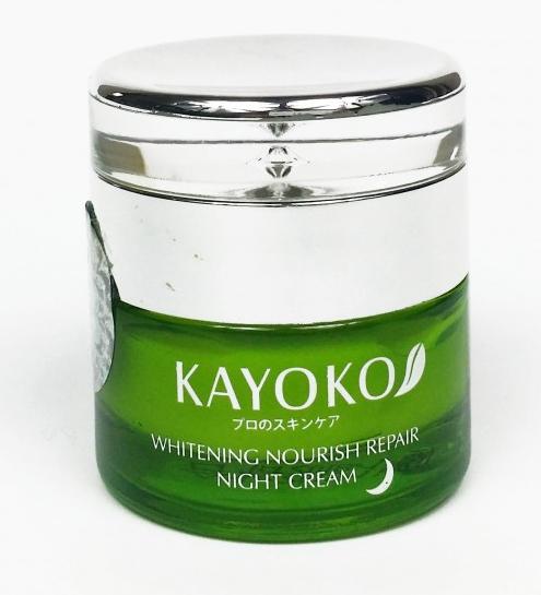 Kem Kayoko dưỡng trắng da ban đêm