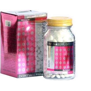 Viên uống Sakura Lcysteine Collagen +C