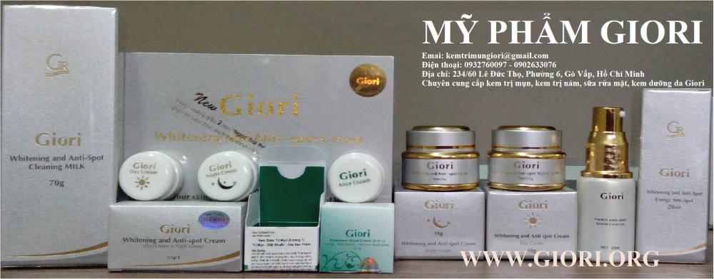 Giori Cosmetics chính thức tại Việt Nam