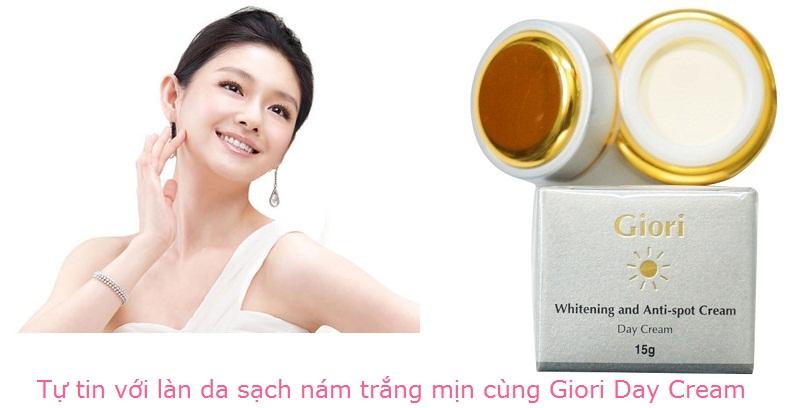 Kem dưỡng ngày điều trị nám Giori Day Cream