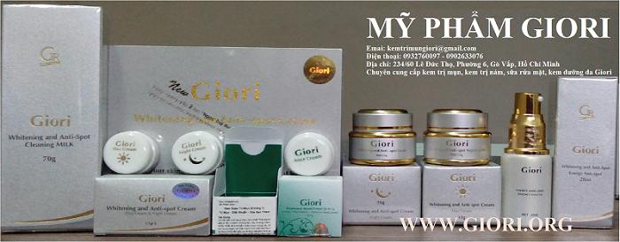 Cung cấp giá sỉ mỹ phẩm Giori tốt nhất thị trường