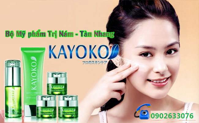 Nhà phân phối mỹ phẩm Kayoko Nhật Bản