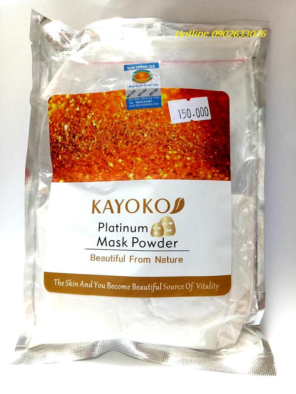 Mặt Nạ Collagen Tinh Chất Vàng 24K Kayoko Nhật Bản