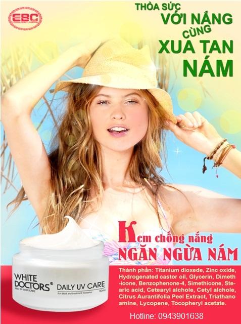 Kem Chống Nắng Ngăn Ngừa Nám Daily UV Care