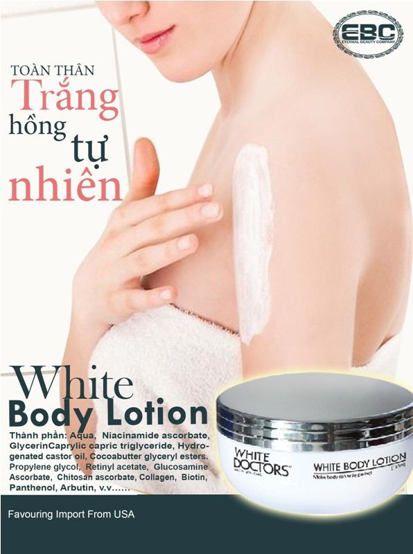 Kem dưỡng thể siêu trắng toàn thân White Body Lotion