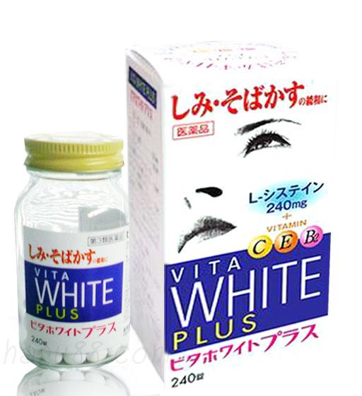 Vita White Plus Viên uống trắng da Nhật Bản