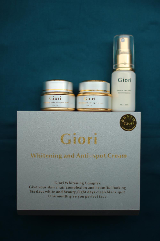 Kem trị nám, tàn nhang, dưỡng da Giori (bộ 3 Giori)