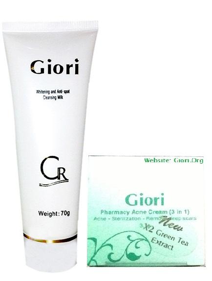 Kem trị mụn bọc, hết nhờn, trắng da, nhỏ chân lông Giori