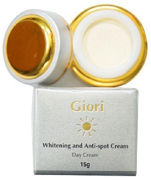 Kem dưỡng trắng da chống nắng ban ngày Giori