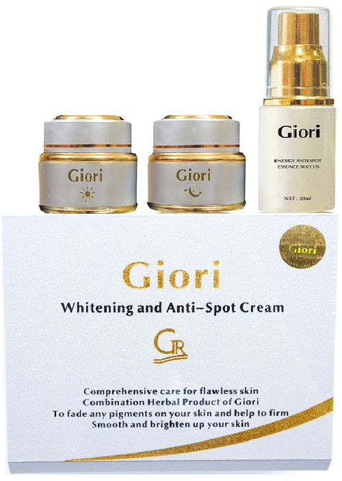 Kem dưỡng da điều trị nám Giori (Bộ 3 Giori)